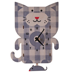 Cat Pendulum Clock