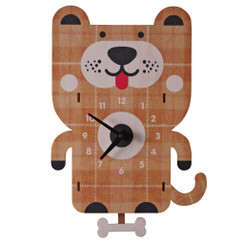 Dog Pendulum Clock