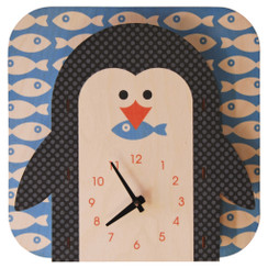 Penguin 3D Clock