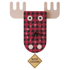 Moose Pendulum Clock