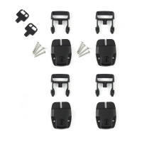 Master Spa - SPALOCKSET - Spa Cover Locks - Set of 4 with Screws and Keys - Top View