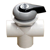 Master Spa - X245360 - 2 inch Master Spas Diverter Valve 2003 to 2005 - Side View