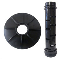 Master Spa - StandPipeSet - Conversion Kit - X268340 Filter Spindle Lid and X268310 Filter Standpipe  - Side View