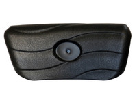 Master Spa - X540702 - Spa Pillow - Black Lounge or Small Corner Pillow for Legend Series 2003-2004 - Front View