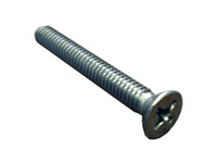 Master Spa - X716465 - 1/4x20x2 inch Stainless Steel PH FL Screw for H2X and Crosstrainer Corner - Side View
