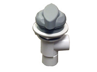 Master Spa - X804605 - 3/4 inch Grey Diverter Valve starting in 2008 - Side View