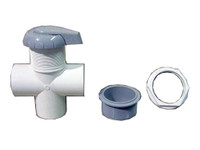 Master Spa - X279810 - 2 inch HydroFlow Diverter Valve - Granite for Master Spas models from 1999 to 2002  - Demo View