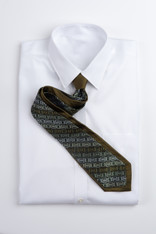 Square Print with Muted Stripe- Olive Green
