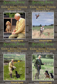 Cocker Spaniel Training DVDs - Edward Martin