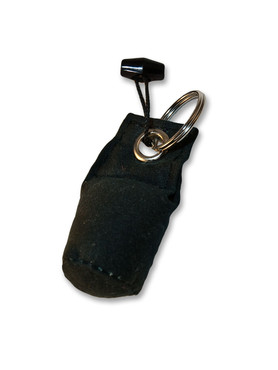 Key Ring Dummy (Dark Green Waxed Cotton)