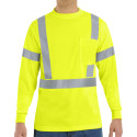 Red Kap SYK2HV Hi-Viz Long Sleeve Shirt
