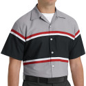 Red Kap SP24GM Short Sleeve Technician Shirt