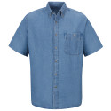 Wrangler SD20 Denim Short Sleeve Shirt