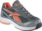 Reebok RB1630 Pewter/Pumpkin Cross Trainer Steel Toe