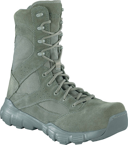 Reebok RB8835 Dauntless Men's 8 Inch Sage Green Tactical Soft Toe Boot