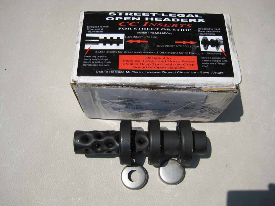 Car Chemistry Exhaust Inserts Review