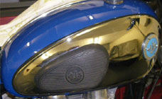 Petrol Tank Dent Removal