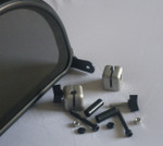 MGF Wind Stop Windstop Clamp Fitting Kit MGTF in Alloy or Black Finish