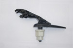 "Jaguar ""Black"" Sprung Loaded Leaper For Models  X S XF XJ XK"