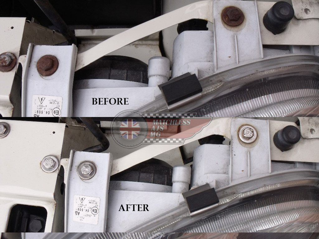 MG3 Under Bonnet Stainless Steel Replacement Kits