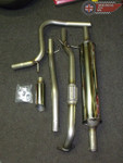 "MG3 2"" Stainless Steel Enhanced Exhaust System"