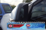 MG GS Wing Mirror Rain Deflector