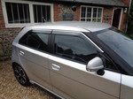 OUR NEW STYLE WIND DEFLECTORS FOR THE MG3 (ALL MODELS)
