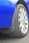 MG TF Rear Mudflaps with MG Logo