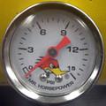 Mr. Horsepower / Marshall White Liquid Filled 0-15 PSI