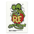 Rat Fink Sticker - Large - Green