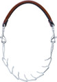 Leather and Chain Goat Halter