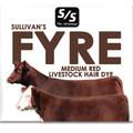 Sullivan's Fyre Medium Red Hair Dye