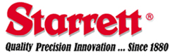 starrett logo Quality Precision Innovation since 1881