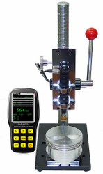 Phase II MET-1000 Precision Test Stand for PHT-6000 Series Ultrasonic Hardness Testers. Brystar Metrology Tools