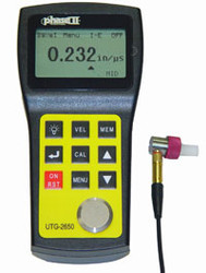Phase II Ultrasonic Thickness Gauge UTG-2650 - Brystar Metrology Tools