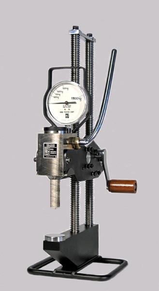 King Portable Brinell Hardness Tester Model A2 Low Pressure Long Ram Test Head. Brystar Metrology Tools.
