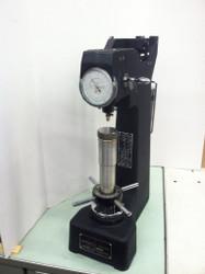 Misawa Seiki 3R Regular Rockwell Hardness Tester. ISO view. Brystar Tools.