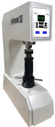 Phase II Motorized Load Cell Digital Rockwell Hardness Tester 900-415 Iso View. Brystar Metrology Tools