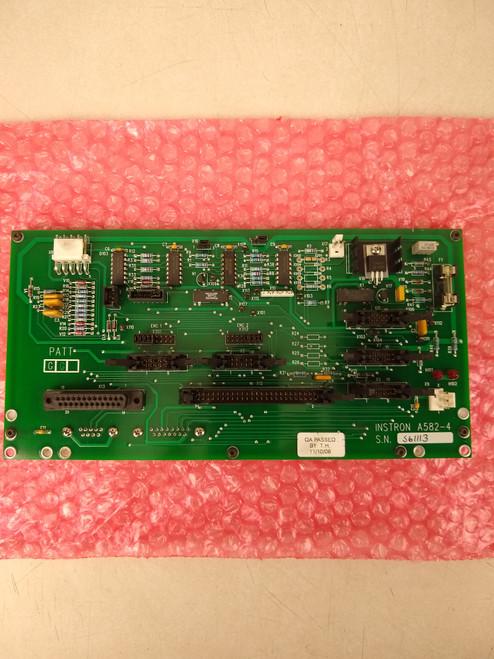 Wilson 2000 MRT MicroRockwell Interface Board A582-4. Top View. Brystar Metrology Tools.