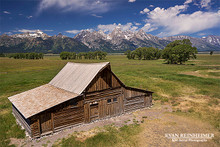 Mormon Row Barn - Jackson Hole, WY