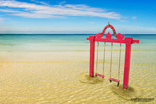 Pink Swings - Gili Trawangan, Indonesia