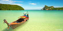 Longtail Boat - Koh Phi Phi, Thailand