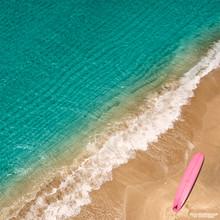 Pink Surfboard - Delray Beach, FL