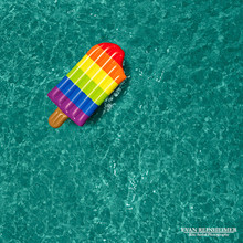 Rainbow Ice Pop - Pool Float Series