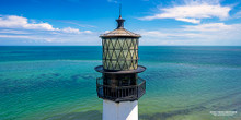 Cape Florida Lighthouse - Key Biscayne, FL (horizontal orientation)
