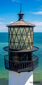 Cape Florida Lighthouse - Key Biscayne, FL (vertical orientation)