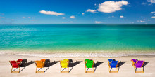 Rainbow Beach Chairs - Longboat Key, FL