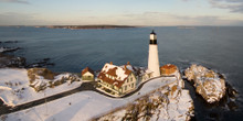 Portland Headlight (winter)