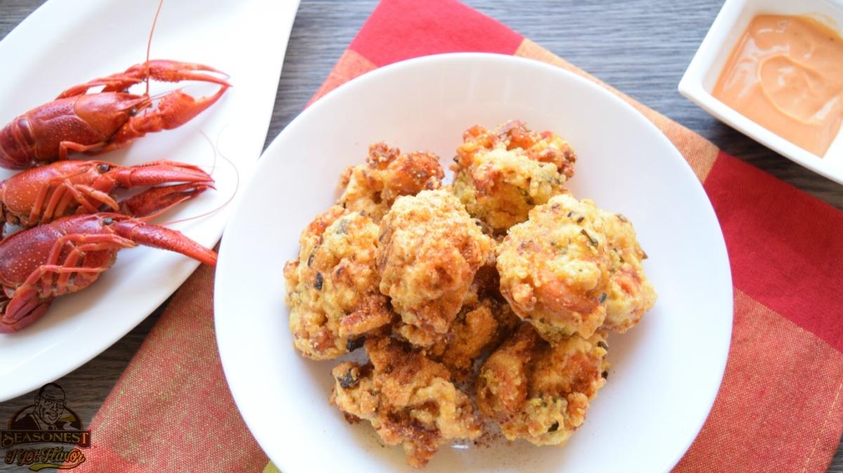 Crawfish Hush Puppies Seasonest Spices