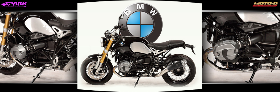 Spark Exhausts for BMW Motorcycles